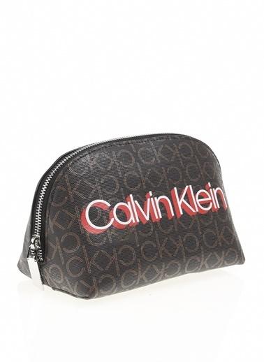 Calvin Klein Makyaj Çantası Kahve